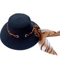 sombrero bucket zebra negro viva felicia