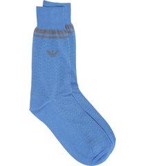 emporio armani eagle knee high socks