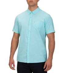 hurley men's one and only 2.0 chambray shirt