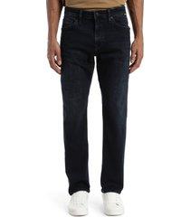 men's big & tall mavi jeans zach straight leg jeans, size 40 x 36 - blue