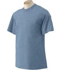heather indigo blue xl gildan g2000 ultra cotton t-shirt s / s  g200 z7 azul