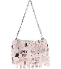 metallic pink 1969 shoulder bag