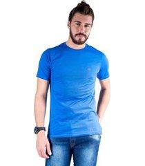 camiseta mister fish gola careca basic masculina