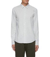 coppi' stripe cotton shirt