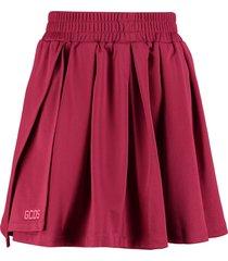 gcds wrap mini skirt