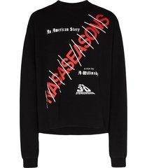 american story logo sweater