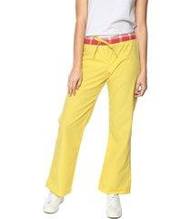 pantalón relax amarillo san marino referencia 510