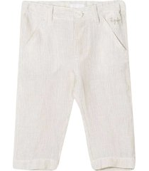il gufo trousers with embroidery
