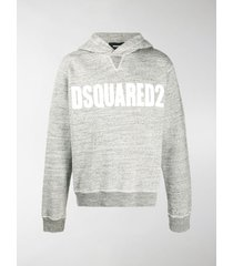 dsquared2 chest logo print hoodie