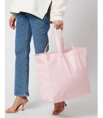 núnoo women's big tote bag - pink