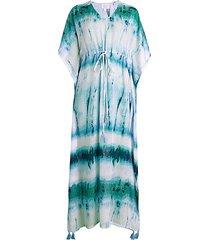 willow tie-dye coverup dress