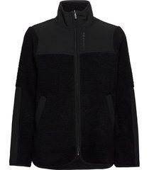 phoebe jacket sweat-shirt trui zwart röhnisch