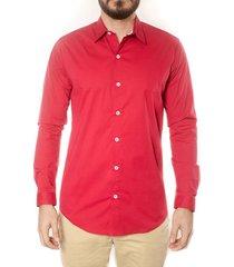camisa frank pierce ted c2107 - rojo