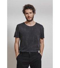 t-shirt basic marmorizada masculina - masculino