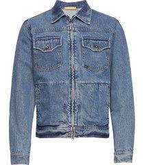 crust jeansjack denimjack blauw tiger of sweden jeans