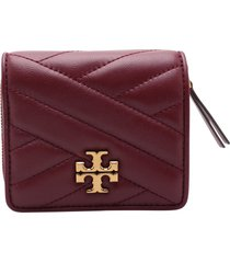 tory burch kira leather wallet