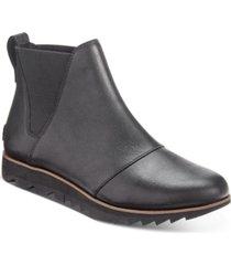 sorel women's harlow chelsea waterproof booties women's shoes