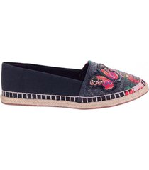 alpargata butterfly negro we love shoes