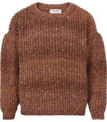 oversized terracotta sweater