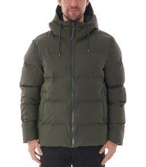 rains puffer jacket | green | 150603