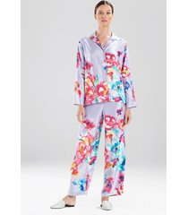 natori peonia pajamas, women's, size xs sleep & loungewear