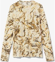painted figures long sleeve t-shirt