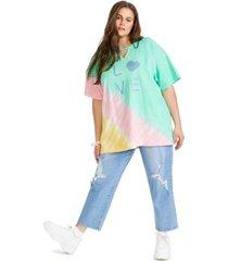 full circle trends plus trendy gigi cotton graphic t-shirt