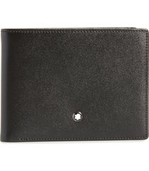 montblanc bifold leather wallet at nordstrom
