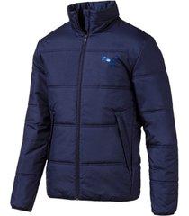 blazer puma essentials padded full zip men's jacket