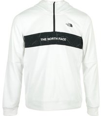 sweater the north face 1/4 zip hoodie