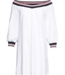 abito con scollo a barca (bianco) - bodyflirt boutique