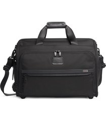 tumi multiple pocket duffle bag - black