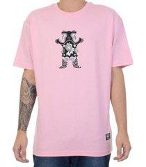 grizzly camiseta grizzly especial ursinho rosa - masculino