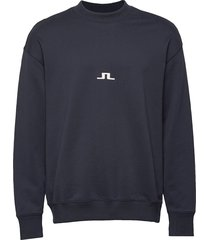 hector-jljl sweat sweat-shirt trui blauw j. lindeberg