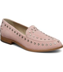 juno studs loafers låga skor rosa shoe the bear