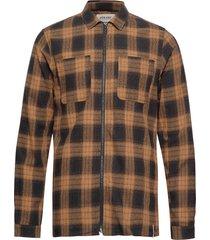 akhanky shirt skjorta casual brun anerkjendt