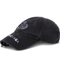 balenciaga piercing destory cotton hat