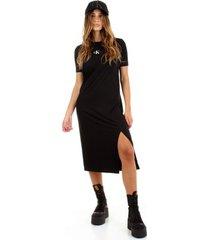 lange jurk calvin klein jeans j20j216273