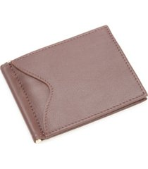 men's royce new york rfid blocking money clip wallet