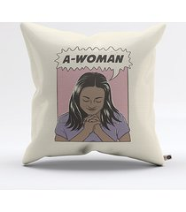 almofada a-woman