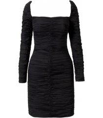 asha ruched mini dress
