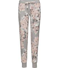 l. pants long pyjamasbyxor mjukisbyxor rosa skiny