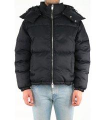 1017 alyx 9sm black down jacket with buckle