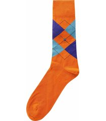 burlington socks manchester socks |orange| 20182-8415