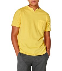 men's good man brand premium cotton t-shirt, size xx-large - yellow