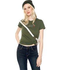 camiseta verde levis