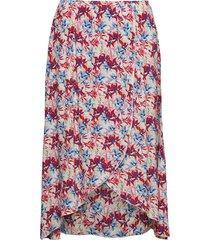 skirt short woven fa knälång kjol multi/mönstrad taifun