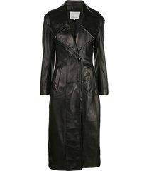 3.1 phillip lim zipped trench coat - black