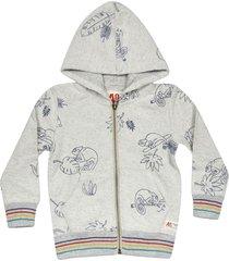 ao76 animal print hoodie