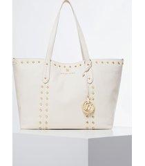 mała skórzana torebka typu shopper model sapphire